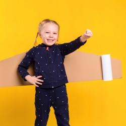Ideas de disfraces para niños sin usar plásticos