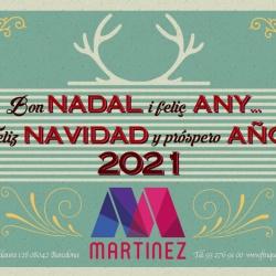Finques Martínez us destja molt bones festes!