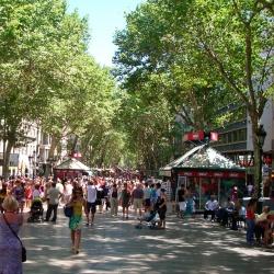 La nueva Rambla de Barcelona: más peatonal y más uso ciudadano