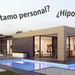 Cómo financiar la compra de una casa prefabricada: hipoteca o préstamo personal